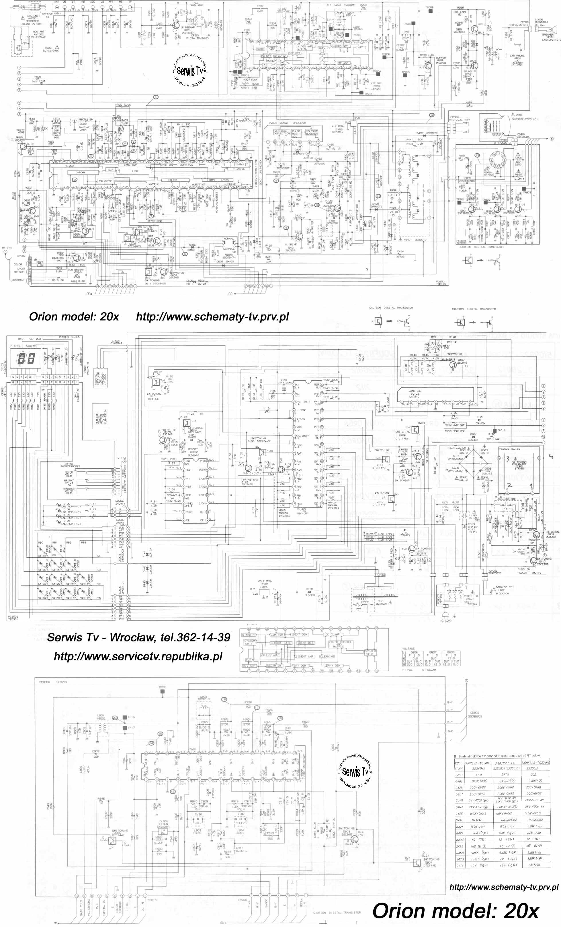 Thomson Tv Schematic Diagram - DIY Enthusiasts Wiring Diagrams •